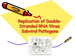 Replication of Double-Stranded RNA Virus; Subviral Pathogens