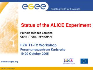 Status of the ALICE Experiment