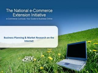 Business Planning & Market Research on the Internet