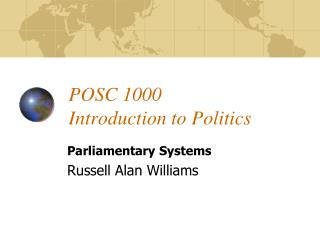 POSC 1000 Introduction to Politics