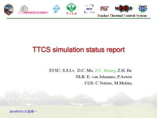 TTCS simulation status report
