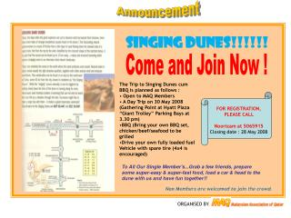 Come and Join Now !