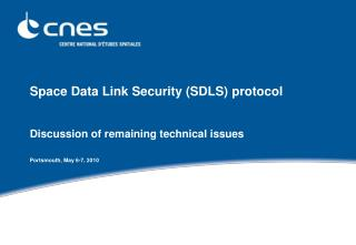 Space Data Link Security (SDLS) protocol