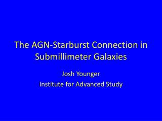 The AGN-Starburst Connection in Submillimeter Galaxies