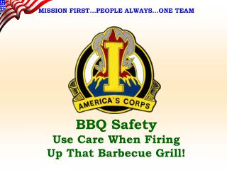 BBQ Safety Use Care When Firing Up That Barbecue Grill!