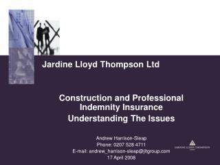 Jardine Lloyd Thompson  Ltd