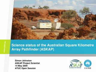 Science status of the Australian Square Kilometre Array Pathfinder (ASKAP)