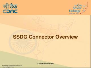 SSDG Connector Overview