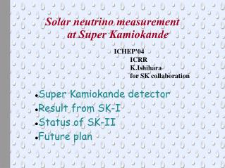Solar neutrino measurement  at Super Kamiokande
