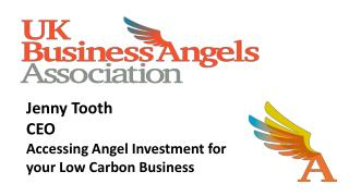 Jenny Tooth CEO Accessing Angel Investment for  your Low Carbon Business 26 th  March 2013