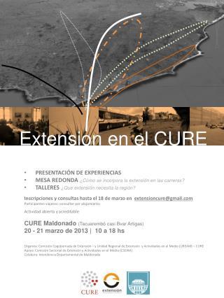 Extension en el CURE
