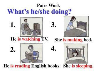 Pairs Work