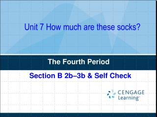 Unit 7 How much are these socks?