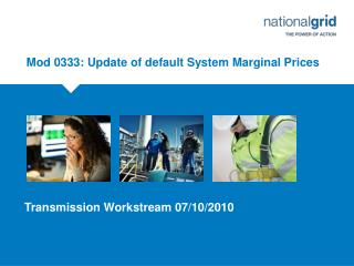 Mod 0333: Update of default System Marginal Prices