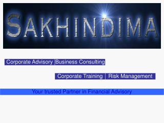 Your trusted Partner in Financial Advisory