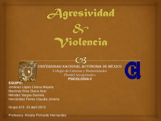 Agresividad & Violencia