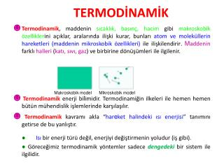 TERMODİNAMİK