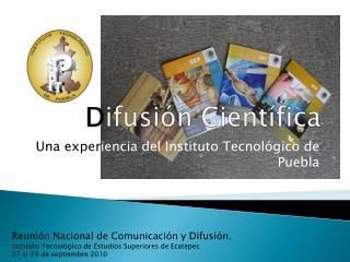 D ifusión Científica