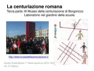 Scuola Vivaldi Spinea 1° Classe quinta a.s.2010 / 2011 Ins. N. Paterno