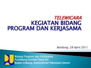 Bandung ,  28 April  201 1