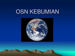 OSN KEBUMIAN
