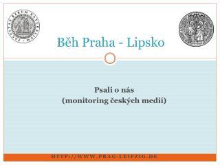 Běh Praha - Lipsko