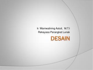 DESAIN