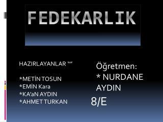 FEDEKARLIK