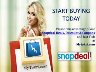 Snapdeal Shopping 2014 - Snapdeal Deals, Offers and Discount