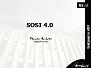 SOSI 4.0