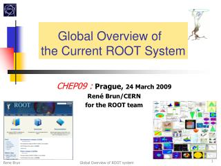Global Overview of the Current ROOT System