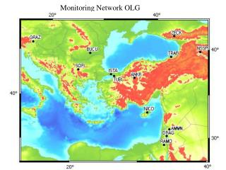 Monitoring Network OLG