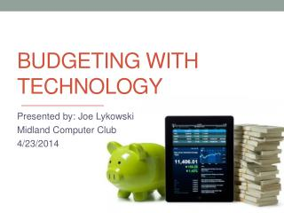 Budgeting with  Technology