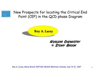 Roy A. Lacey