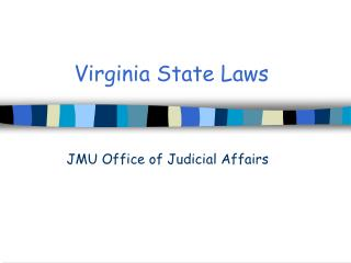 Virginia State Laws