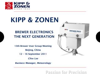 BREWER ELECTRONICS THE NEXT GENERATION