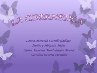 Laura Marcela Castillo Gallego Zuldery  Holguín Mejía  Laura Vanessa Montealegre Brand