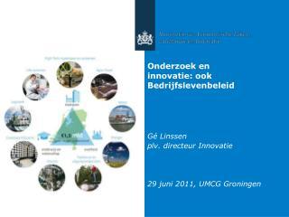 Onderzoek en innovatie: ook Bedrijfslevenbeleid
