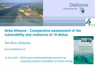 Comparative assessment of the vulnerability and resilience of 10 deltas