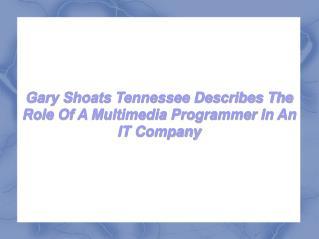 Gary Shoats Tennessee