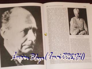 Lucian Blaga( 9 mai 1885-1961)