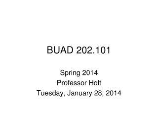 BUAD 202.101