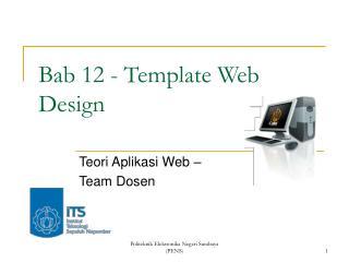 Bab 12 - Template Web Design