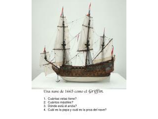 Un nave de 1665