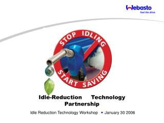 Idle-Reduction     Technology Partnership