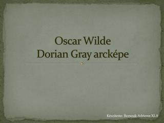 oscar wilde s picture dorian gray and hedonistic effect ch The picture of dorian gray, by oscar wilde dorian gray loathed him more than ever and any girl that has the effect you describe must be fine and noble.