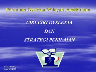Persatuan Dyslexia Wilayah Persekutuan