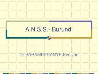 A.N.S.S.- Burundi