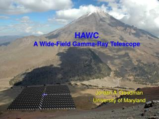 HAWC A Wide-Field Gamma-Ray Telescope