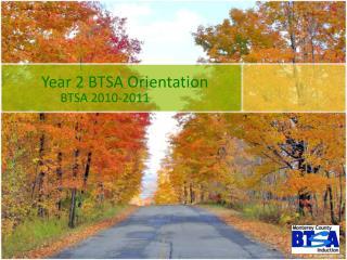 Year 2 BTSA Orientation